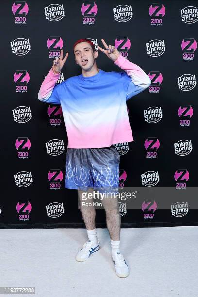 Lauv attends the z100 All Access Lounge presented by Poland Spring Pre-Show at Pier 36 on December 13, 2019 in New York City.