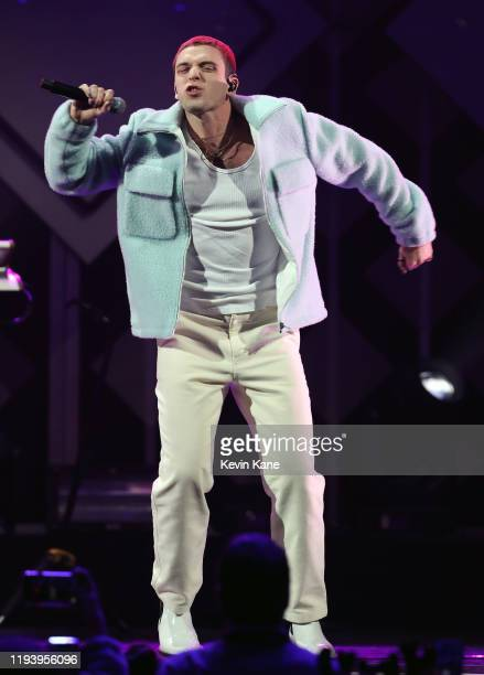Lauv performs onstage during iHeartRadio's Z100 Jingle Ball 2019 at Madison Square Garden on December 13, 2019 in New York City.