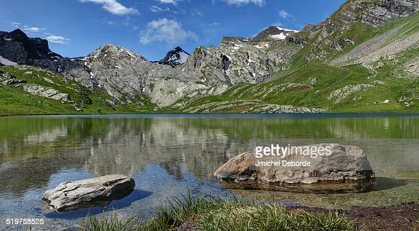 Lauzanier Lake French Mountain