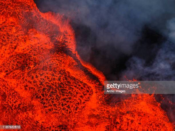 lava, bardarbunga eruption, the vatnajokull national park, iceland - lava stock pictures, royalty-free photos & images