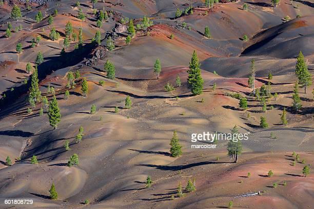 Lava beds, Lassen National Park, California, America, USA