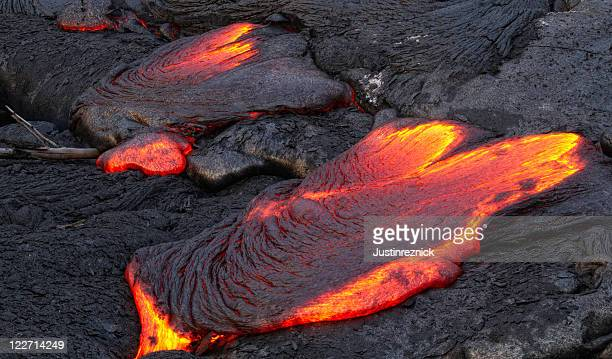 lava breakout - lava stock pictures, royalty-free photos & images