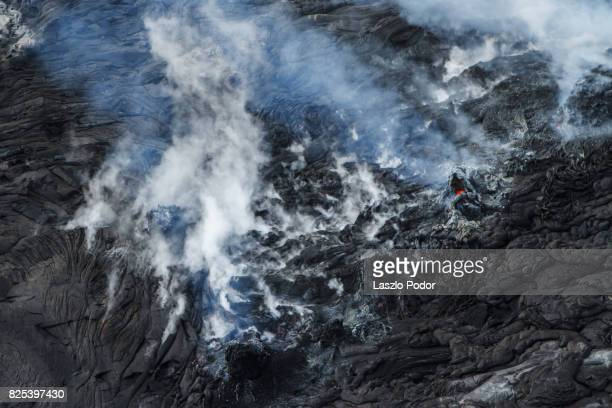 Lava flow on Kilauea