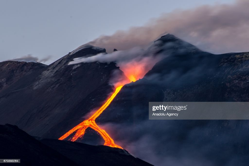 mount etna eruption pictures getty images