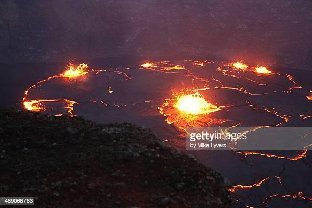 Lava lake, Hawaii