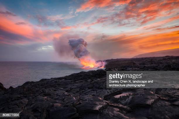 Lava meets the Ocean