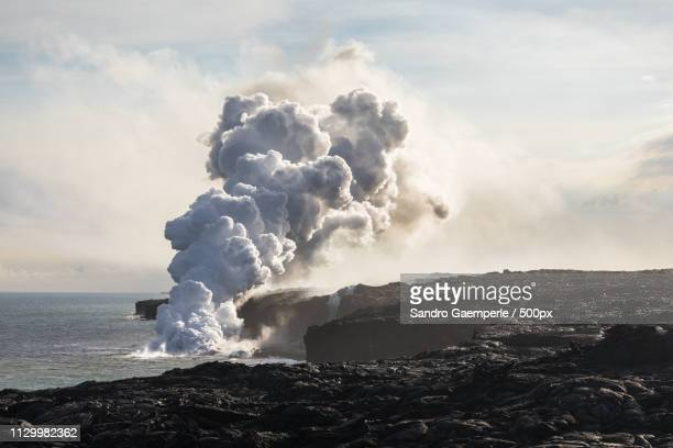 lava - erupting stock pictures, royalty-free photos & images