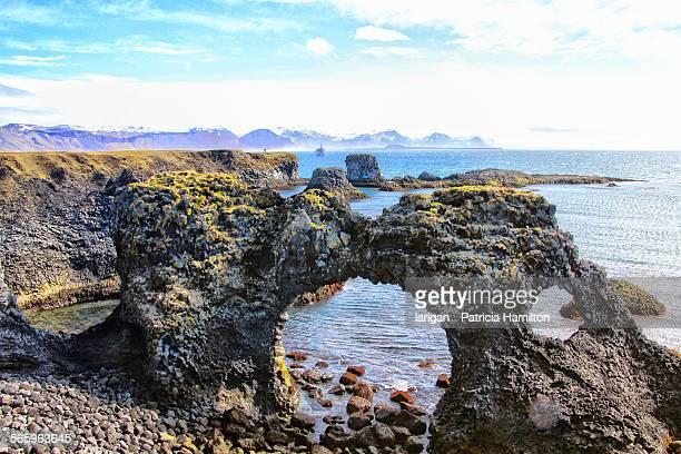 Lava rock formations at Arnarstapi