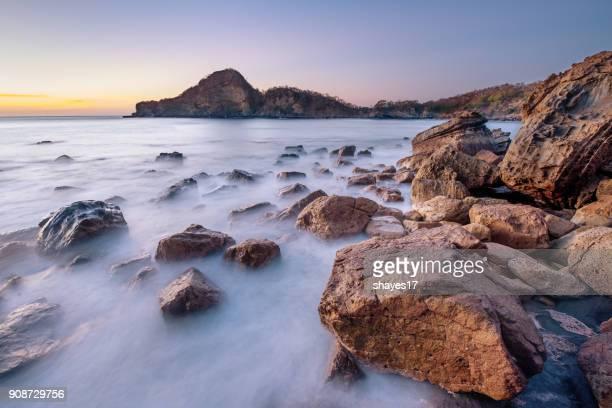 Lava rock seascape