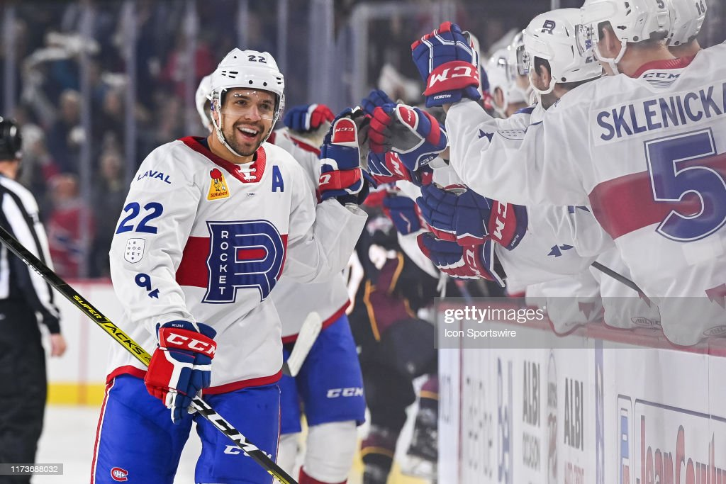 AHL: OCT 04 Cleveland Monsters at Laval Rocket : News Photo