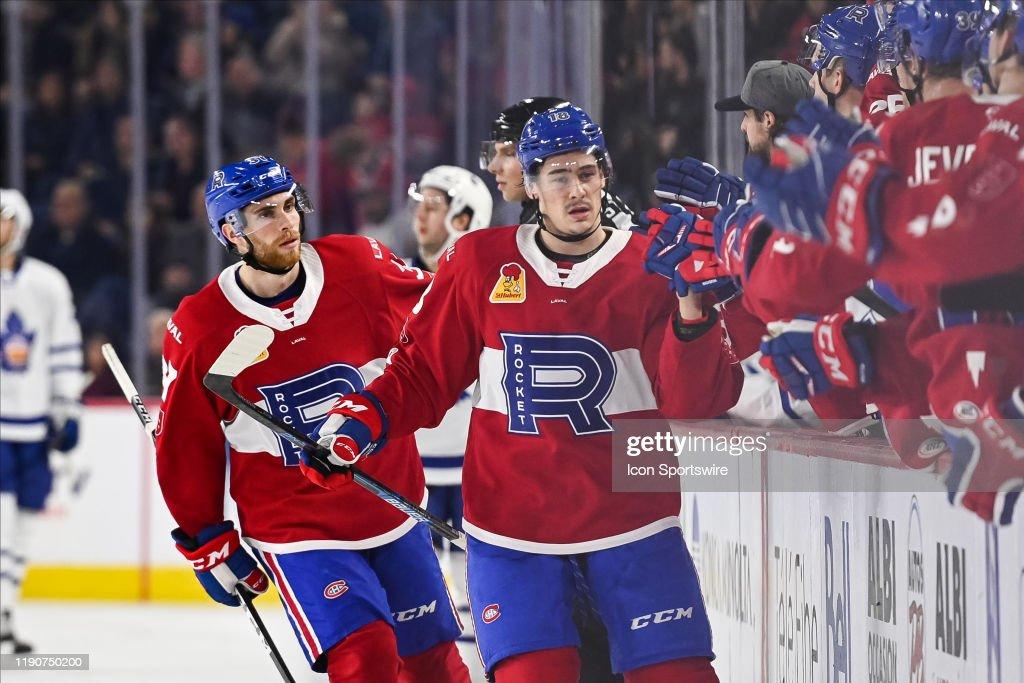 AHL: DEC 28 Toronto Marlies at Laval Rocket : News Photo