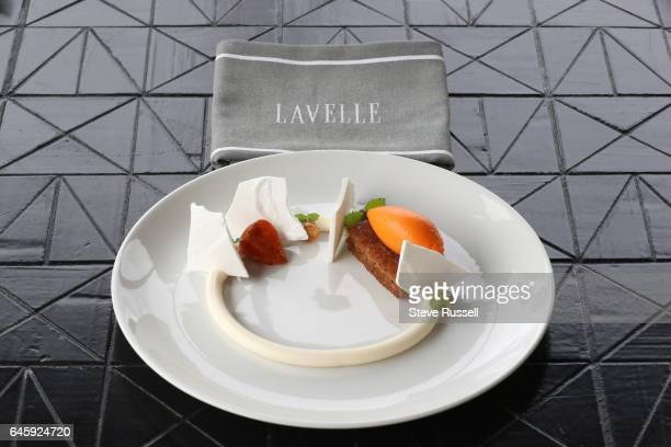 TORONTO ON FEBRUARY 8 Lavalle pastry chef Cori Murphy's carrot pieces in Toronto