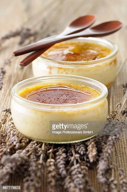 Lavander and vanilla-flavored Crme br_l_e