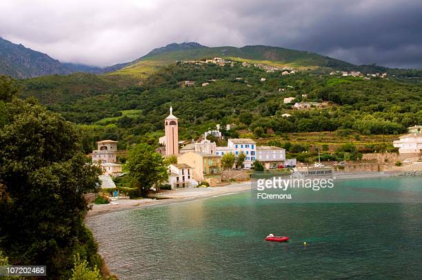 lavasina view - corsica stock photos and pictures