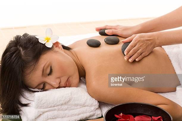 Lavastein massage