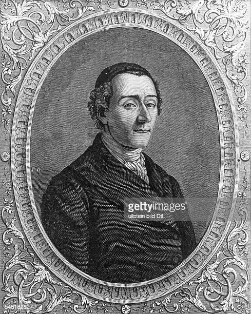 Lavater Johann Kaspar 15111741 02011801 Schriftsteller Religionsphilosoph CH zeitgenössische Darstellung
