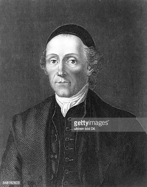 Lavater Johann Kaspar 15111741 02011801 Schriftsteller Religionsphilosoph CH Stahlstich von Carl Mayer in Nürnberg