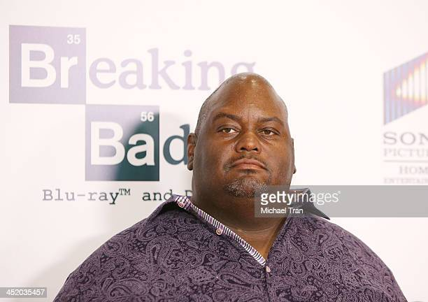 Lavell Crawford attends the No Half Measures Creating The Final Season Of Breaking Bad DVD launch held at Pacific Theatre at The Grove on November 25...