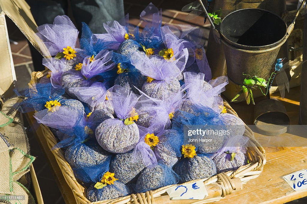 Lavender for Sake, Market in the Old Town, Nice : Photo