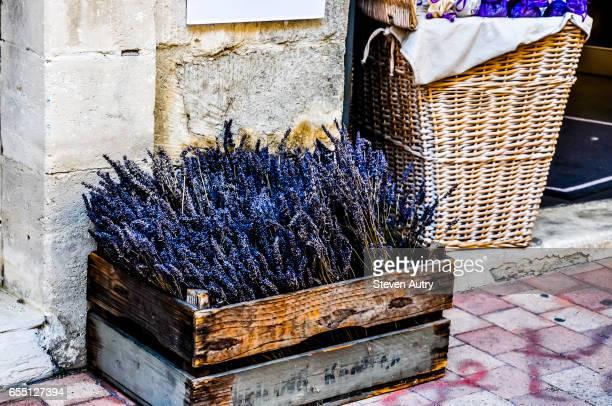 Lavender for sale in Avignon, France.