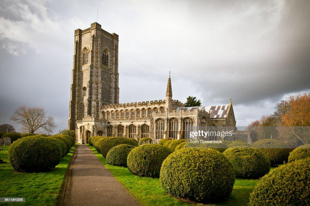 Lavenham church : Foto de stock