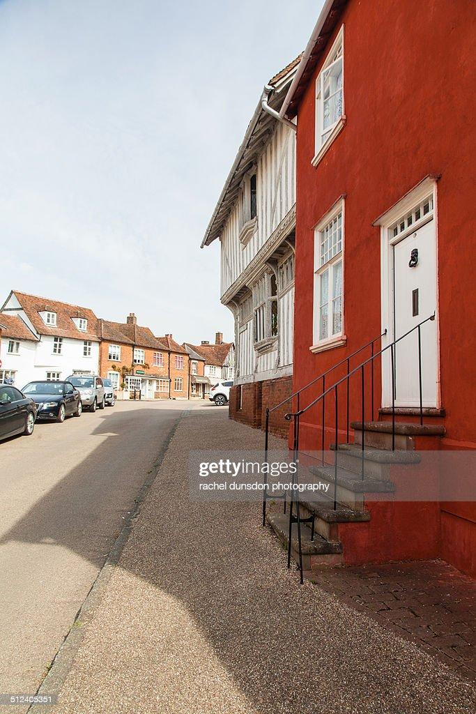 Lavenham - Suffolk : Stock Photo
