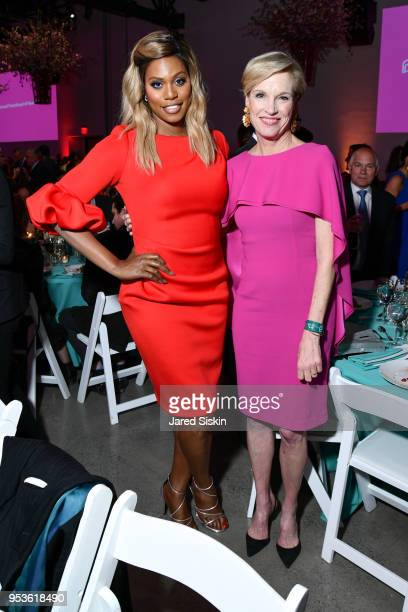 Laverne Cox and Cecile Richards attend Planned Parenthood of New York City Spring Gala honoring Cecile Richards and Laverne Cox at Spring Studios on...
