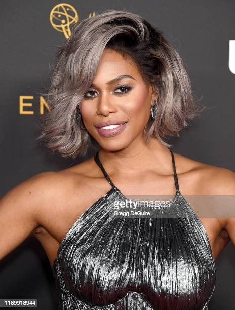 Laverne Cox arrives as the Television Academy Honors Emmy Nominated Performers at Wallis Annenberg Center for the Performing Arts on September 20,...