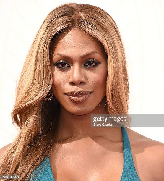 Laverne Cox arrives at the 67th Annual Primetime Emmy Awards at Microsoft Theater on September 20 2015 in Los Angeles California