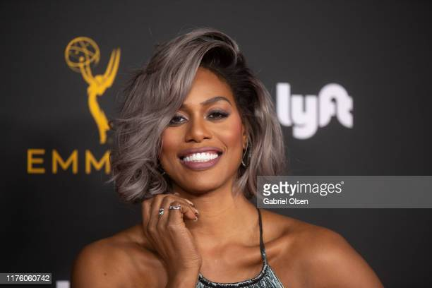 Laverne Cox arrives for the Television Academy Honors Emmy Nominated Performers at Wallis Annenberg Center for the Performing Arts on September 20,...
