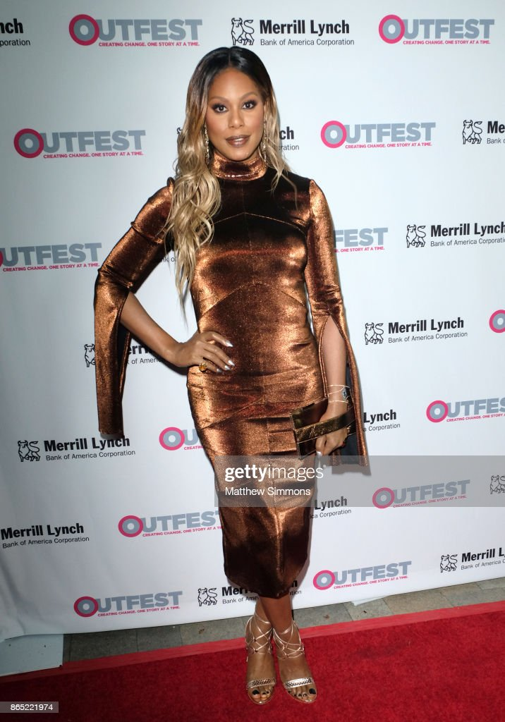 Laverne Cox at the 13th Annual Outfest Legacy Awards at Vibiana on October 22, 2017 in Los Angeles, California.