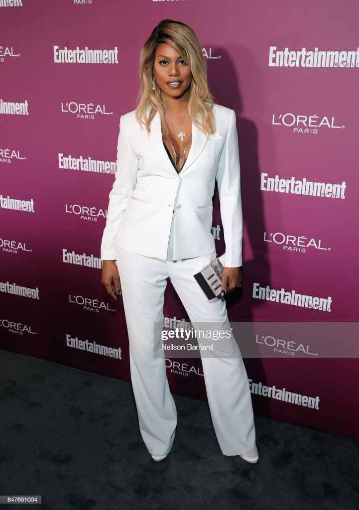 Laverne Cox attends the 2017 Entertainment Weekly Pre-Emmy Party at Sunset Tower on September 15, 2017 in West Hollywood, California.