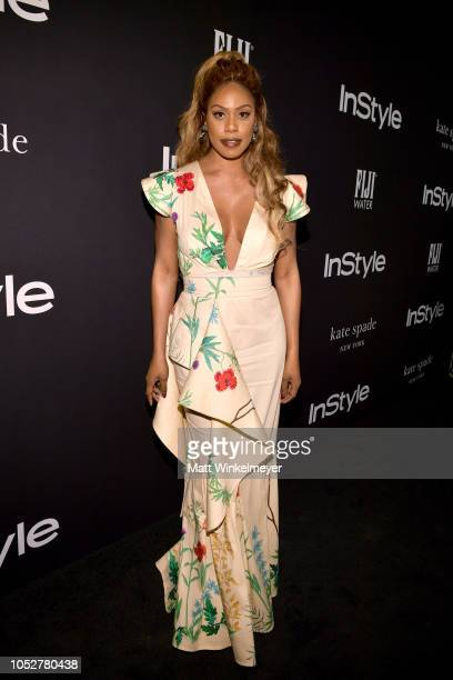 Laverne Cox attends the 2018 InStyle Awards at The Getty Center on October 22 2018 in Los Angeles California