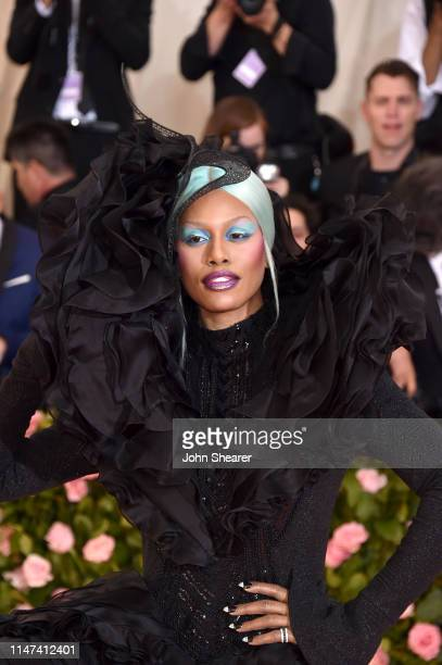 Laverne Cox attends The 2019 Met Gala Celebrating Camp Notes on Fashion at Metropolitan Museum of Art on May 06 2019 in New York City