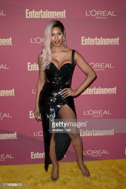 Laverne Cox attends the 2019 Pre-Emmy Party hosted by Entertainment Weekly and L'Oreal Paris at Sunset Tower Hotel in Los Angeles on Friday,...