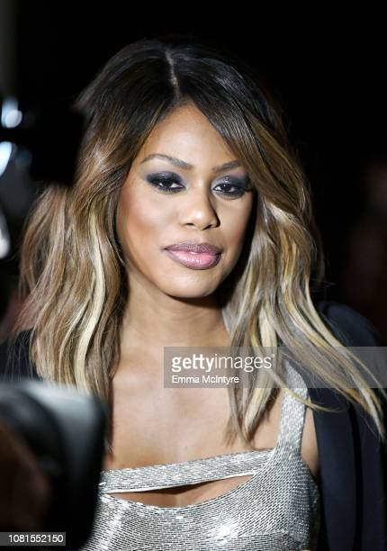Laverne Cox attends the 25th Annual Screen Actors Guild Awards Nominations Announcement at Pacific Design Center on December 12 2018 in West...