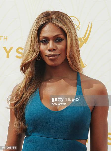 Laverne Cox attends the 67th Annual Primetime Emmy Awards on September 20 2015 in Los Angeles California