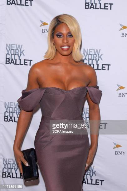 Laverne Cox attends the 8th Annual New York City Ballet Fall Fashion Gala at David H Koch Theater Lincoln Center