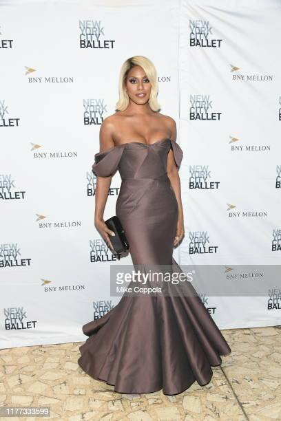 Laverne Cox attends the 8th Annual New York City Ballet Fall Fashion Gala at David H Koch Theater Lincoln Center on September 26 2019 in New York City
