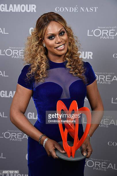 Laverne Cox attends the Glamour 2014 Women Of The Year Awards at Carnegie Hall on November 10, 2014 in New York City.