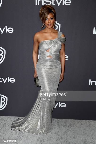 Laverne Cox attends the InStyle And Warner Bros Golden Globes After Party 2019 at The Beverly Hilton Hotel on January 6 2019 in Beverly Hills...