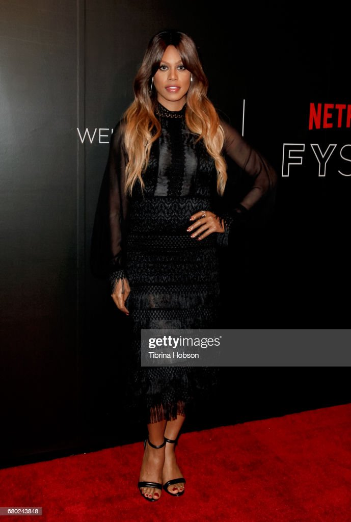 Laverne Cox attends the Netflix FYSEE Kick-Off event at Netflix FYSee Space on May 7, 2017 in Beverly Hills, California.