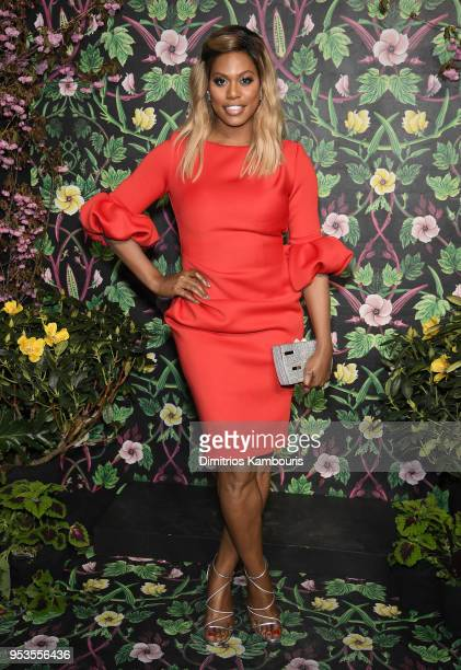 Laverne Cox attends the Planned Parenthood's 2018 Spring Into Action Gala at Spring Studios on May 1 2018 in New York City