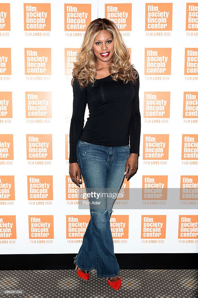 Laverne Cox attends the 'Tangerine' New York Screening Hosted By Laverne Cox at Elinor Bunin Munroe Film Center on December 1, 2015 in New York City.