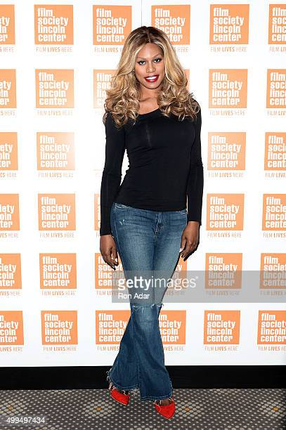 Laverne Cox attends the 'Tangerine' New York Screening Hosted By Laverne Cox at Elinor Bunin Munroe Film Center on December 1 2015 in New York City