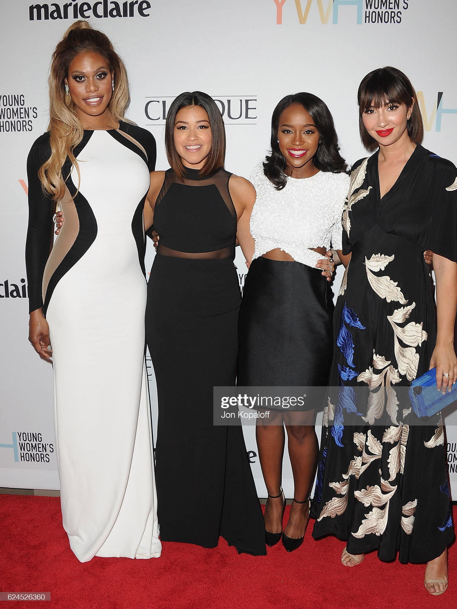 ¿Cuánto mide Gina Rodríguez? - Real height Laverne-cox-gina-rodriguez-aja-naomi-king-and-jackie-cruz-arrive-at-picture-id624526360?s=2048x2048