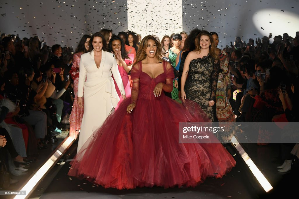 11 Honore - Runway - February 2019 - New York Fashion Week: The Shows : Nieuwsfoto's
