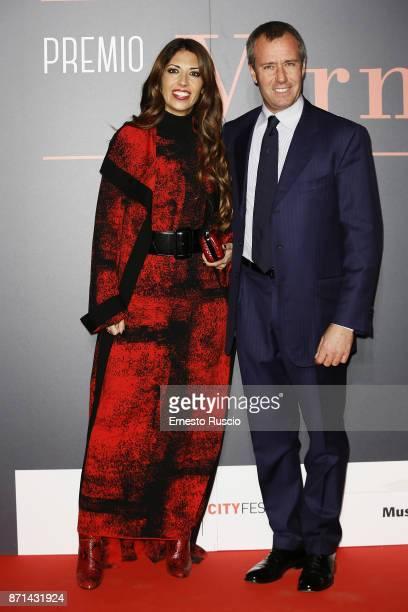 Lavinia Biagiotti and Gianni Cigna attend The Virna Lisi Award at Auditorium Parco Della Musica on November 7 2017 in Rome Italy