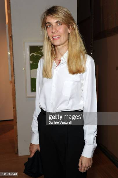 Lavinia Borromeo Elkann attends the press preview of the ''The Museum Of Everything'' at the Pinacoteca Giovanni e Marella Agnelli on March 31 2010...