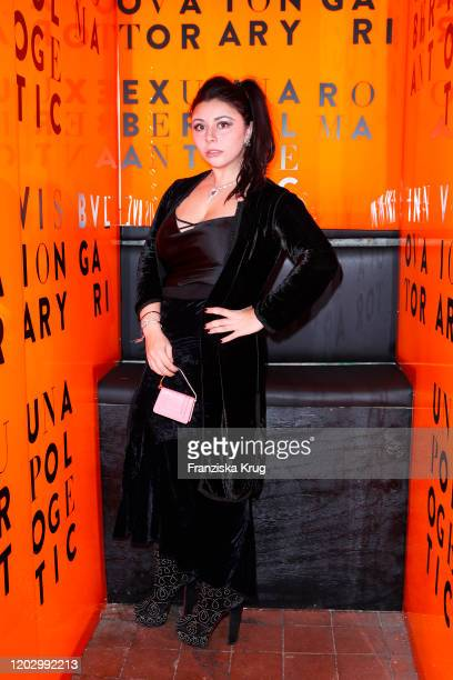 Lavinia Fuksas at the Unapologetic Night by BVLGARI x Constantin Film at BVLGARI CLVB on February 23 2020 in Berlin Germany